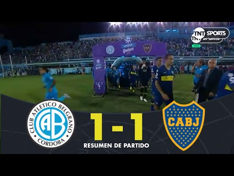 Resumen de Belgrano vs Boca Juniors (1-1)   Fecha 18 - Superliga Argentina 2018/2019