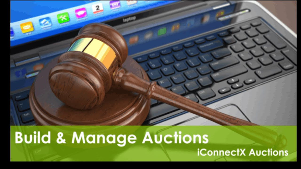Iconnectx Auction Online Fundraising Auction Platform For Charity Nonprofits Free Online Auction Youtube