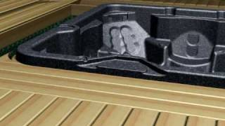 How To Build Deck Access For A Hot Tub | Arctic Spas