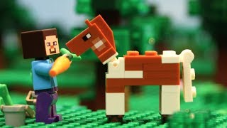 LEGO Stop Motion Movies Compilation - LEGO Minecraft Animation Films - All Classic Tales Episodes