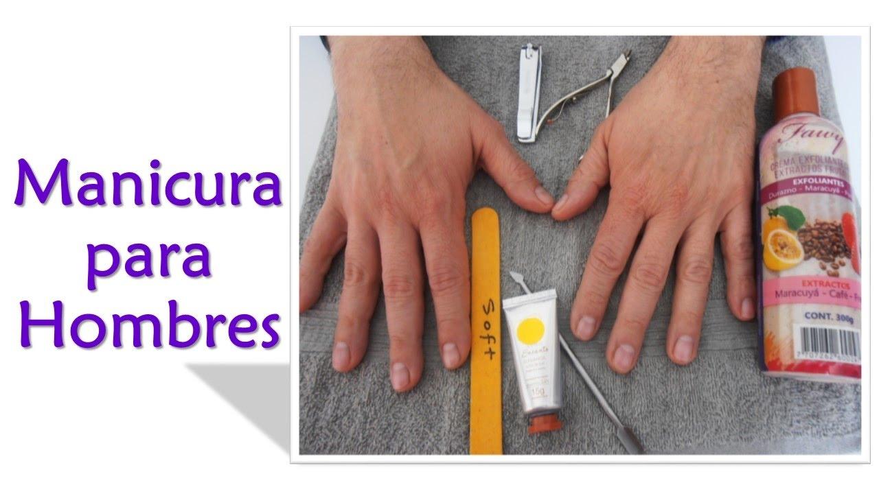 Aprende a arreglar las uñas de los hombres. Manicure paso a paso ...