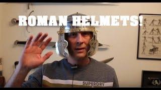 Roman Legionary Helmet Overview - Helmet Courtesy of Metatron