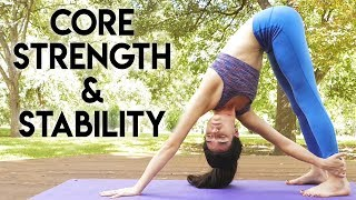 Power Yoga for Core Strength & Stability, Workout Your Abs & Obliques with Julia Marie