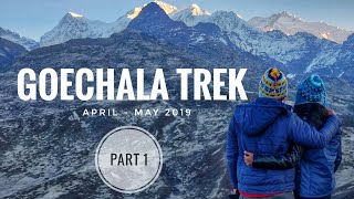 Yuksom to Tshoka | Goechala Pass Trek | (Part 01 of 03) | Sikkim, INDIA | HillTrotters | May'19