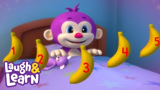 Counting Bananas Lullaby | Laugh & Learn™ | Cartoons and Kids Songs | Learn ABCs + 123s | Nursery