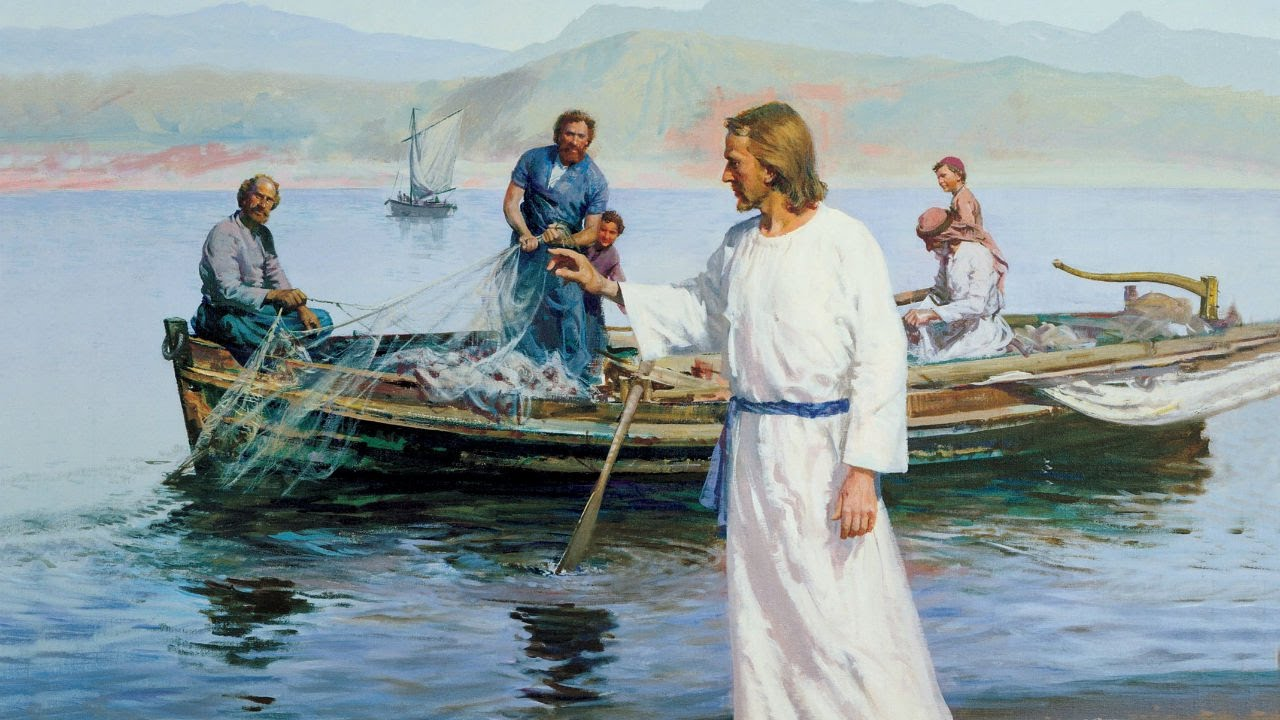 Image result for Jesus at the sea of Galilee images