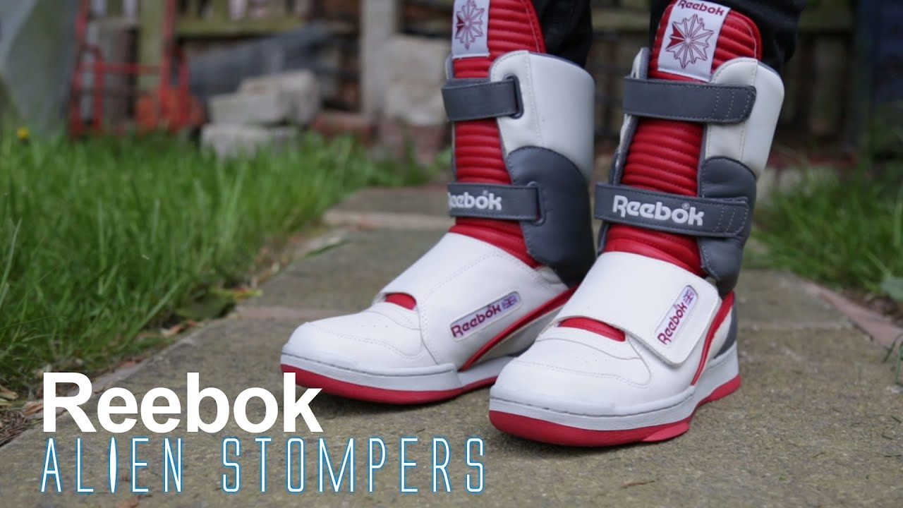 b60a0904dbeee0 Review of The Reebok Alien Stomper Hi - YouTube