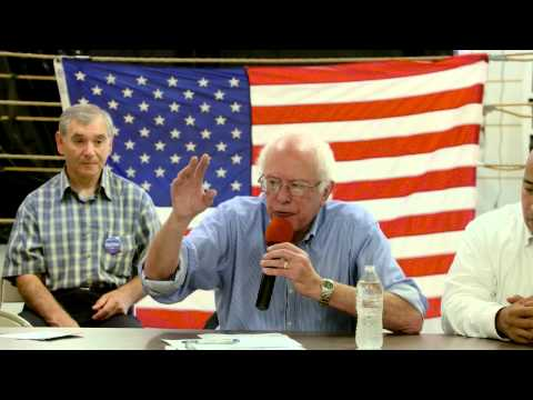 "Bernie Sanders in Muscatine, Iowa at Latino Roundtable: ""To the best of my knowledge, undocumented people did not cause the greed and illegal behavior on Wall Street that destroyed this economy."""