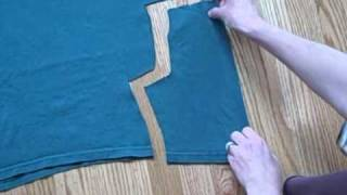 How to Make Baby Pants from a Tshirt
