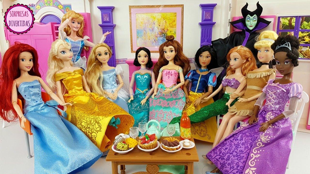 10 princesas disney son hechizadas por mal fica for Muebles de princesas disney