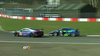 GT4 European Series - Zolder 2018 - Race 2 Highlights