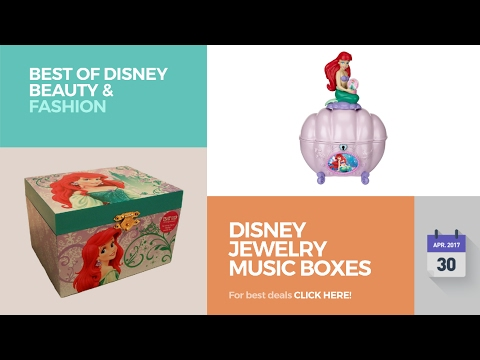 Disney Jewelry Music Boxes Best Of Disney Beauty & Fashion