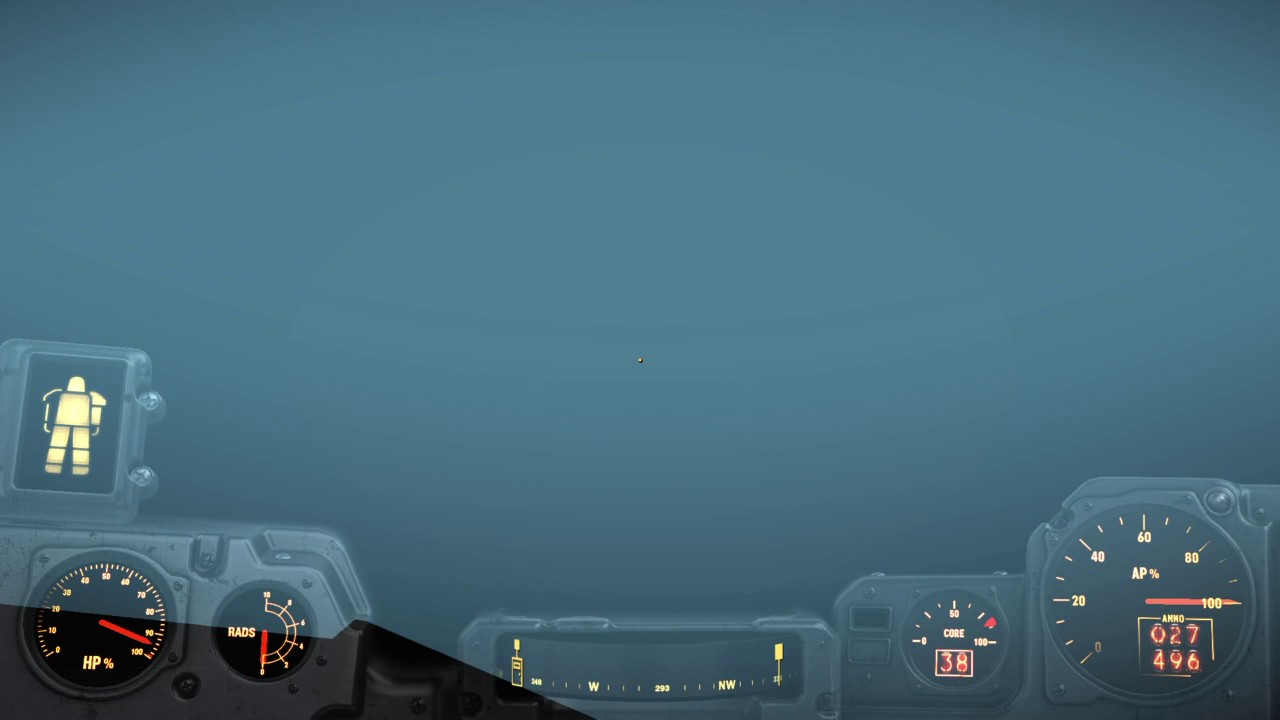Fallout 4 DLC NUKA WORLD Safari Adventures Welcome Center WALL GLITCH