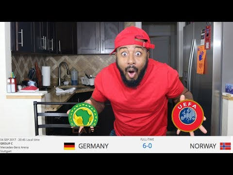 2018 FIFA World Cup Qualifiers Reaction (CAF, UEFA) SEPT 4TH MATCHES