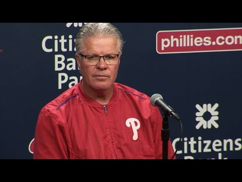 MIL@PHI: Mackanin on 8-1 win over Brewers