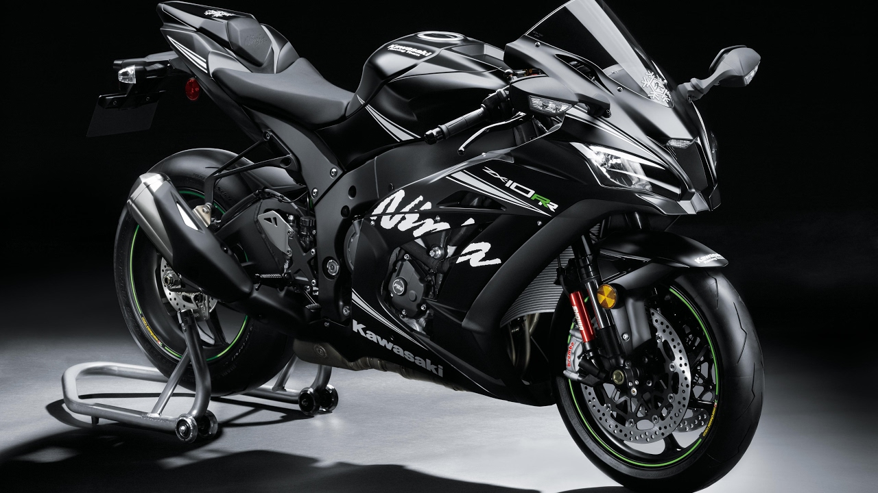 New Kawasaki Ninja ZX10-RR MY17 - Official Video