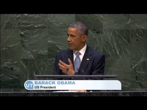 Obama Condemns Russia: US president uses UN address to support Ukraine