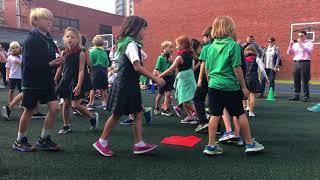 Second Grade Square Dancing (Nov 2017)