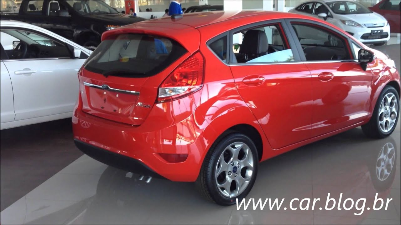 New Fiesta Hatch Vermelho 2013 Se Youtube