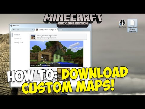 how to download minecraft maps on ps4 2016
