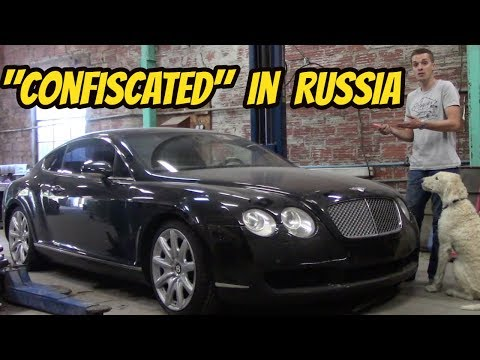 My Cheap Bentley Spent 10 Years in Russia-- and It has Stories to Tell