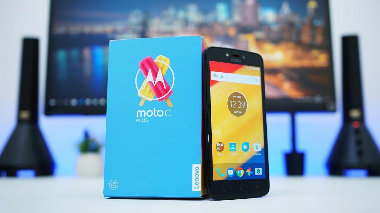 Unboxing Moto C Plus Indonesia - HP Paling Basic dari Motorola