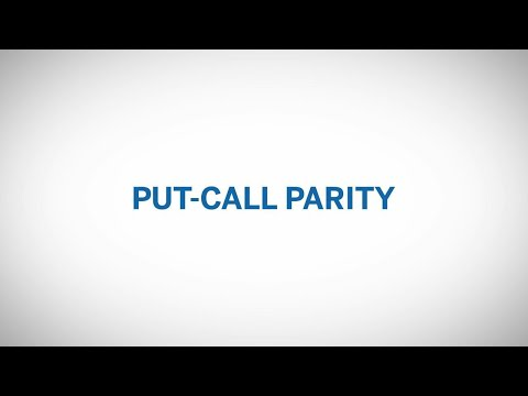 Directional Option Strategies - Put Call Parity