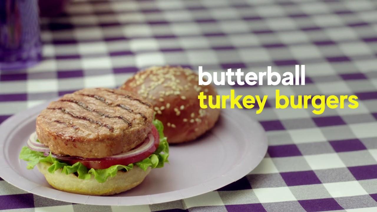 Butterball Turkey Burger Youtube