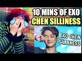 Gambar cover 10 MINUTES OF CHEN'S SILLINESS | HE'S SO EXTRA I LOVE IT! | REACTION!!