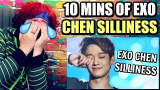 10 MINUTES OF CHEN'S SILLINESS | HE'S SO EXTRA I LOVE IT! | REACTION!!