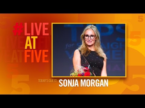Broadway.com #LiveatFive with Sonja Morgan of SEX TIPS FOR STRAIGHT WOMEN FROM A GAY MAN