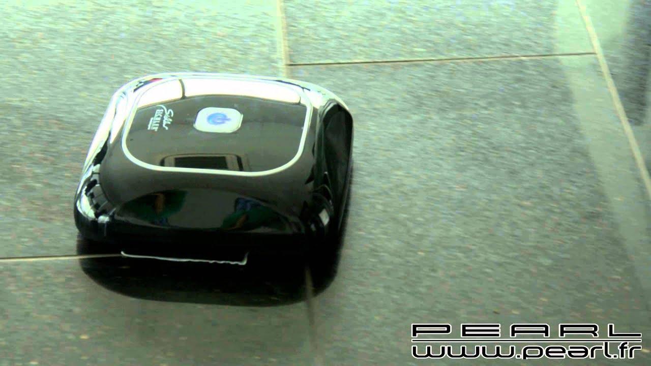 nc5776 robot nettoyeur de sols 39 39 pcr 1050 39 39 youtube. Black Bedroom Furniture Sets. Home Design Ideas