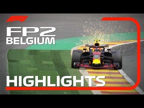 2018 Belgian Grand Prix   FP2 Highlights