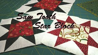 Saw Tooth Star Block