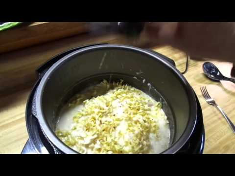 Quick and easy Chicken Alfredo in the power pressure cooker