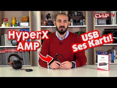 HyperX AMP İncelemesi - USB Ses Kartı