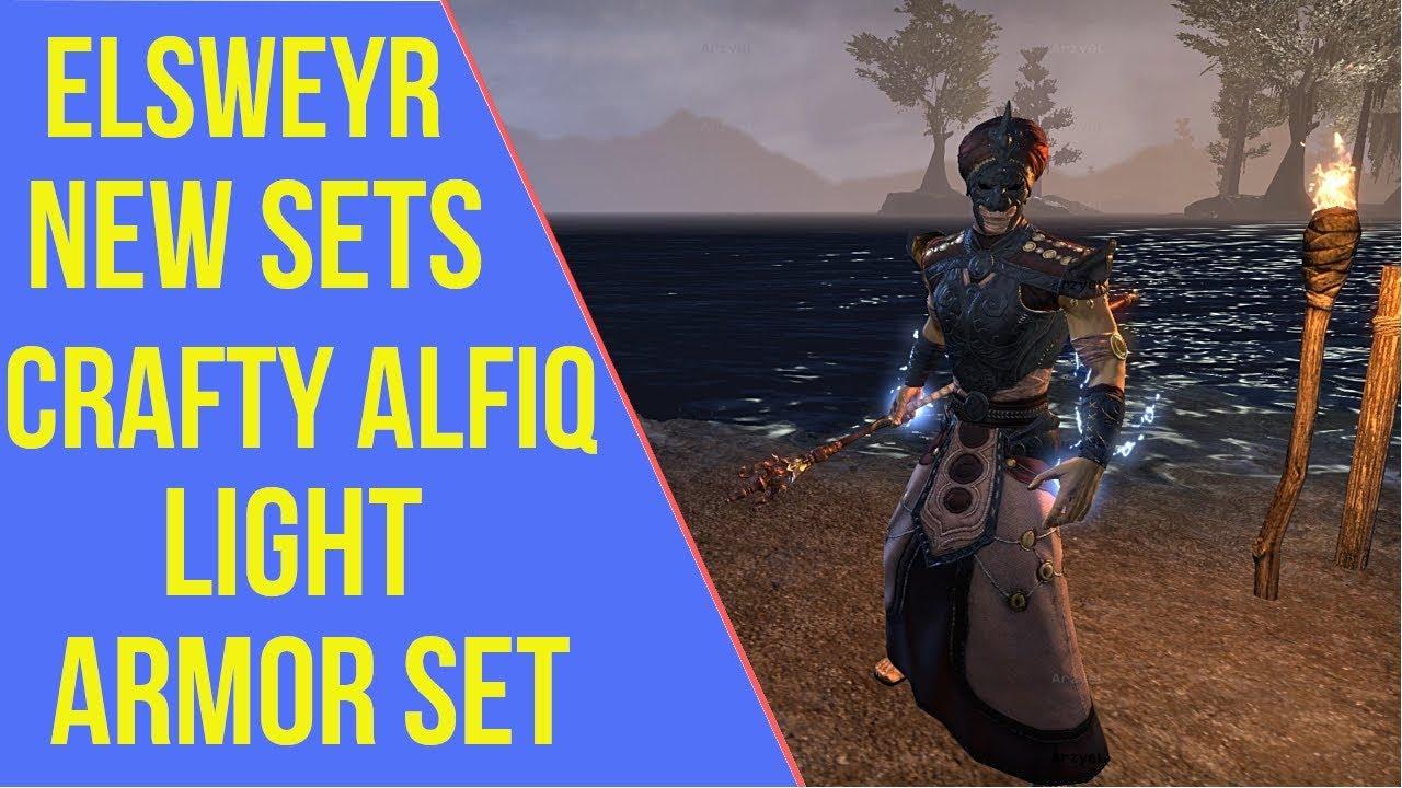 ESO Elsweyr New Sets - Crafty Alfiq | Elsweyr PTS