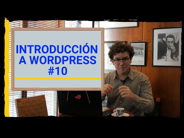 📚 Menús y Widgets en Wordpress | #10 Curso de Wordpress | Aurelio Couso