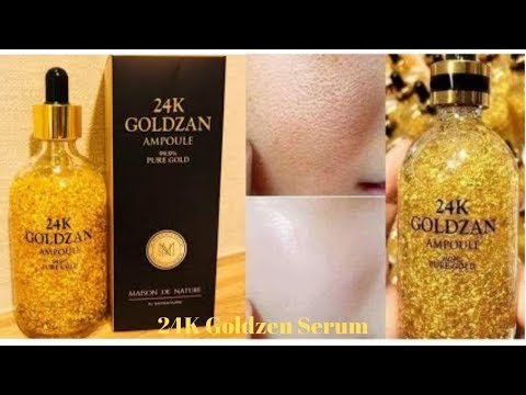 24k-goldzan-ampoule-serum||how-&-when-to-use||review||urdu