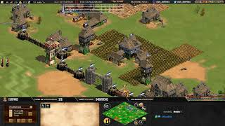 #2 AGE OF EMPIRES 2 ! EXPERT PLAYERS ! ZUPPI vs BACT - MAP ARABIA