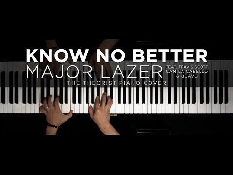Major Lazer - Know No Better ft. Travis Scott, Camila Cabello & Quavo | The Theorist Piano Cover