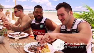 French Rugby Team Pau's Tour of Stradbroke Island