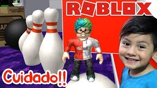 Bowling in Roblox Escape the Evil Bowling ? Roblox Children's Games