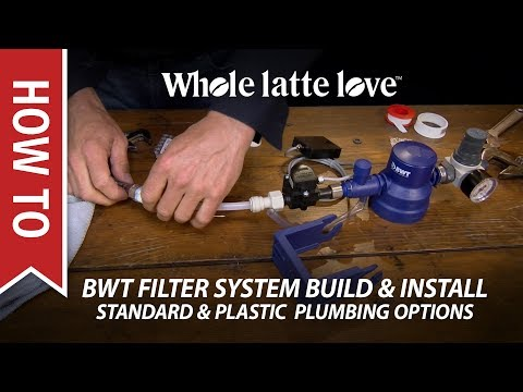 How To: BWT Water Filter System Build & Plumbing Install