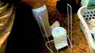 9-1-11 Demonstration of Mediven Big Butler Comp Sock Aid