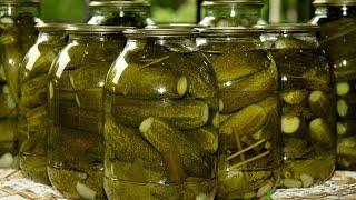 Вкусные маринованные огурцы на зиму./Pickles.