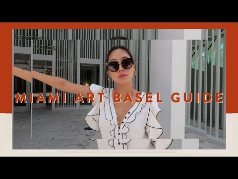 Miami Art Basel Vlog  Why I Became a Blogger  Vlog#54  Aimee Song
