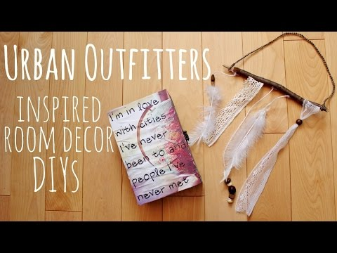 EASY DIYS: Urban Outfitters Inspired Room Decor|| Grace&TJ