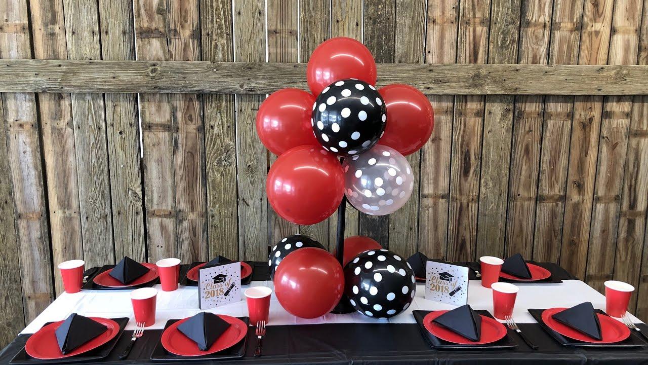 DIY Dollar Tree Party Ideas Balloon Centerpiece Tutorial