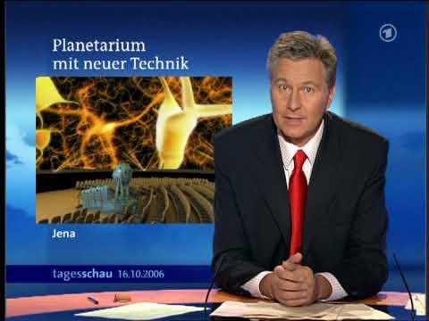 Historische Tagesschauen Das Zeiss- Planetarium Jena wird Digital